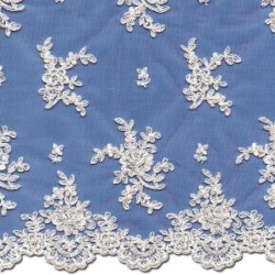 Chantilly Lace Wedding Fabric 4438C | Wedding Lace | Bride | Buy