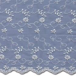 Wedding Lace Fabric 4446