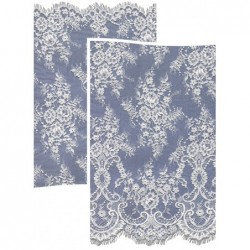 Chantilly Lace Wedding Fabric 6417