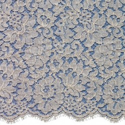 French Corded Dress Lace Fabric 6418C