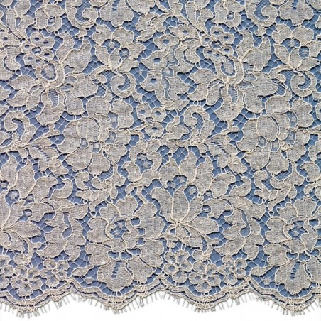 French Corded Dress Lace Fabric 6418C | Wedding Lace | Buy